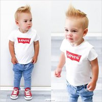 Designer new brand 1- 9 years old baby boy girl T- shirt summe...