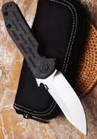 Commercio all'ingrosso in fibra di carbonio maniglia ZT0630 di alta qualità personalizzato skike pocket coltello pieghevole lama in acciaio d2 tattica di sopravvivenza coltelli da campeggio