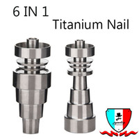 Titanium Nail Domeless 10mm 14mm 18mm MaleFemale 6 en 1 Joint Real GR2 Titanum Remboursement Fake