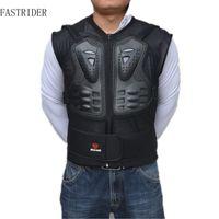 2018 novos Homens Ao Ar Livre Corrida de Motociclismo Peito de Volta Protetor Engrenagem de Corrida De Motocross Body Protection Jacket Blindagem Esporte Guarda