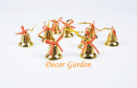 4cm Golden Bell Christmas Tree Strap Wind Chimes Accessories...
