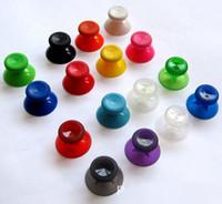 متعدد الألوان الملونة 3d النظير الإبهام عصا ل xbox one تحكم التماثلية thumbstick المقود كاب الفطر dhl فيديكس ems الشحن المجاني