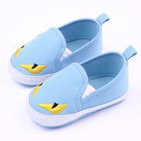 Brand new baby shoes prewalker الكرتون الحيوان الفتيات الفتيان الصغار الأخفاف bebes الطفلية sapatos الأولى مشوا الوليد