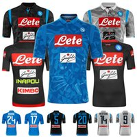1d9cc58d2c6 New 2018 19 Napoli jersey Home Away KOULIBALY INSIGNE HAMSIK.