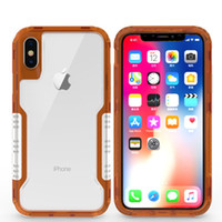 Case For Iphone X 10 8 7 Plus Clear Hybrid Soft TPU Hard PC ...