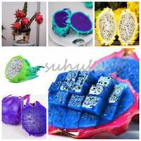 Nuovo!! 200 Pz / borsa 10 Tipi Semi Pitaya Rare, Sweet Dragon Frutta Semi Molto Sano Frutta Sana, Sementes Piante In Vaso Per Giardino di Casa