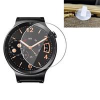 4-PACK pantalla de cristal templado del protector para el Samsung Galaxy reloj 9H rasguño anti Ultra Thin Film Protector