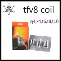 2018 TFV8 Coils Head x4 t8 t6 Q4 t10 Replacement Coils Fit t...
