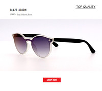new top Fashion Trend 4380 BLAZE ROUND Style Sunglasses Vint...