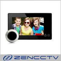 "4.3 ""LCDモニタービデオドアベルカメラ2.0mp 160度ドアビューアPeepholeドアベルホームセキュリティ"