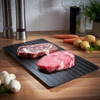 New Kitchen Quick Defrost Fresh Meat Freeze Food Safety Tool...