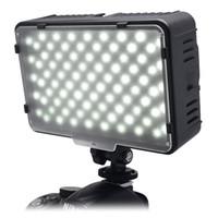 Mcoplus 168 LED Video Işık On-Kamera Fotografik Fotoğraf Paneli Aydınlatma Canon Nikon Sony DV Kamera Kamera için VS CN-160