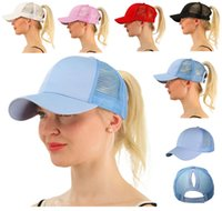 Hot CC Horsetail Baseball Cap Ladies Horsetail Hat Fashion G...