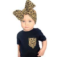 bebé niña diademas desingere diadema bebé leopardo estampado arco accesorios para el cabello kids cumpleaños fiesta suministro recién nacido bebe oreja calentador