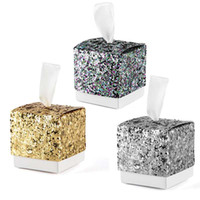 Fashion Glitter Candy Box Baby Shower Party Favor Gifts Wedd...