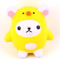 New Squishy Kawaii Bear Chicken Slow Rising Toys Pendant Pho...