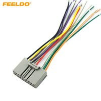 Reproductor de CD Radio FEELDO Car Audio Estéreo arnés de cableado Adaptador de enchufe para Honda Civic / Fit / CR-V / Odyssey # 1611