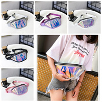 5styles Women PVC laser waist bag Fanny Packs summer Beach f...