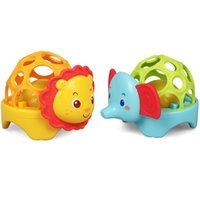 Soft Gutta New Baby Toy Ball Walker Rattles Develop Baby Int...
