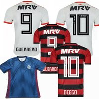 New CR Flamengo 2018 soccer jersey 18 19 Flamengo home Camis...