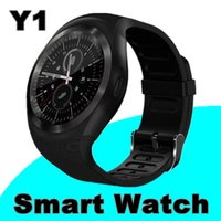 1000X Hot Sell Y1 smart watches Latest Round Touch Screen Ro...