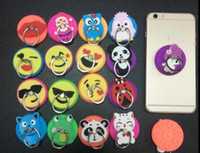 New Cartoon Ring Stand Soft Silicone Case Holder