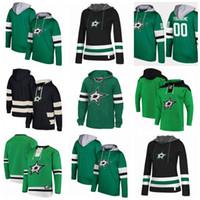 Custom Dallas Stars hoodie jerseys Patrick Sharp Jamie Benn Jason Spezza  John Klingberg John Klingberg Tyler Seguin Hockey Hooded Sweatshirt 2ecd44224