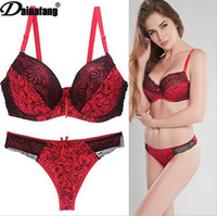 Foreign Trade Goods Source Sexy Bra Suit Lace Printed Underw...
