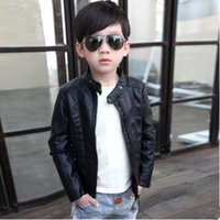2018 children' s clothing spring and autumn new boy pu l...