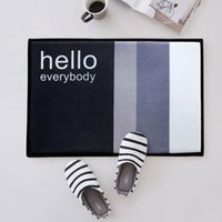 60*40cm Hello Doormats - Front Door Mat Rugs - Door Entry Fr...