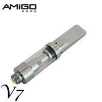 Vape Glass Tanks Amigo Liberty V7 Vaporizzatore Pen Cartucce 0.5ml Olio denso Cartuccia E Atomizzatori cig
