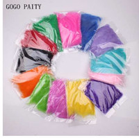 GOGO PAITY 1 bag of 100pcs rainbow- colored natural feathers ...