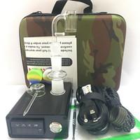 Gros E Quartz Nail portable PID TC contrôle dabber boîte Quartz Hybride titane d nail PID contrôle de la température numérique Enail pour cire