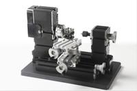 TZ20002MR DIY BigPower Mini Metal Metal مخرطة، 60W 12000R / دقيقة المحرك، تعليم الأطفال الموحد، أفضل هدية