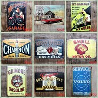 Lot Champion Shell Motor Oil Garage Route 66 Retro Vintage T...