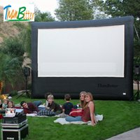 inflatable rear projection screen banner, Outdoor Advertisin...
