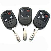 3 4 5 Tecla de control remoto sin llave de entrada de botón para Ford Reemplazo FOB FOB