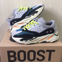 Wave Runner 700 Kanye West Running Shoes Kids Trainer Sneake...