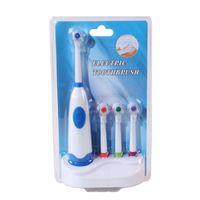 Spazzolino elettrico a 4 teste di spazzolino Igiene orale Prodotti per la salute dentale per la cura della bellezza Alimentazione a batteria