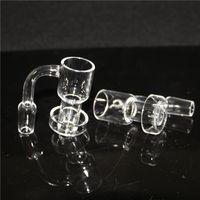 Fumar Terp Slurper Slurpers Domeless Quartz Nails Pulished Junta Dab Rigs Convenien para usar bongs de vidrio