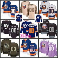 Custom Hommes Femmes Jeunes New York Islanders 6 Ryan Pulock 13 Mathew Barzal 27 Anders Lee 29 Brock Nelson Maillots S-3XL