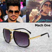 JackJad 2017 Fashion 18K Gold Mach One Adam Lambert Aviator ...