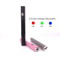 도매 마이크로 USB 포트 AB1004와 높은 품질 510 스레드 가변 전압 vape 펜 배터리 VV 펜 PK 최대 esmart 배터리를 예열