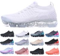 2018 2.0 Hommes Running Designer Chaussures Hommes Femmes Casual Air Coussin Robe Randonneur Noir Blanc Entraîneurs Randonnée Zapatos Sneakers Chaussures 5.5-11