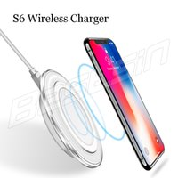 Qi Wireless Charger For iPhone X 8 Samsung S8 Plus S7 Phone ...