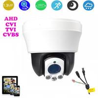 2150fcb6eb3 4-inch AHD CVI TVI CVBS HD PTZ camera Middle Speed dome CVI Camera 1.3MP  10x Auto zoom IR 30m TVI outdoor camera