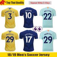 9bc4536621 18 19 Chelsea camiseta de fútbol HAZARD 2018 2019 GIROUD Chelsea MARCOS  ALONSO Chelsea BATSHUAYI Camiseta