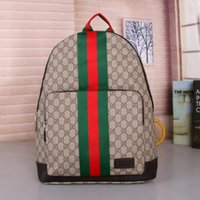 28046925b91 New Arrival. High quality Europe 2018 Luxury brand women backpack men bag  Famous designers canvas ...