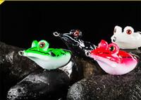 PS Boyalı Büyük gözler Yumuşak Kauçuk Kurbağa Yılanbaş Balıkçılık Cazibesi 4.5 cm 14g Yüzer Yüzmek popper Güçlü Günaha yem