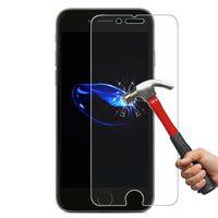 Ultra İnce Temperli Cam Kutuları iPhone X 8 için 4 4 S 5 5 S SE 5C 6 6 S 7 Artı
